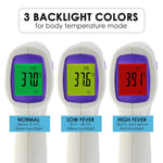 The-292 Non Contact Ir Forehead Thermometer Human Body And Object Temperature Meter Color Lcd Fever