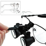 Ndl-025N 2.5X Magnification Dental Loupes Galilean Style Nickel Alloy Frame Surgical Medical