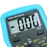 E04-008 Digital Multimeter W/ Test Leads Overload Protection Dc Ac Voltage Resistance Diode Measure