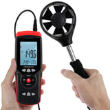 Ane-273 Professional Anemometer Datalogger Wind Speed Velocity Meter Air Flow Cfm Cmm Volume