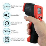 The-262 Lasergrip Non-Contact Digital Laser Infrared Gun Celsius And Fahrenheit Thermometer Ir