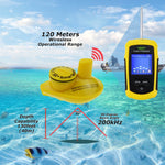 Lucky Ffcw-1108-1 Wireless Fish Finder Sonar Tn/ Anti-Uv Lcd Display Fishfinder Backlight For Night