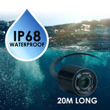 Ff-180Pr Lucky Underwater Camera Fish Locator Finder 120° Wide Angle 20M Cable Length 4 Ir Led 4.3