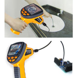"C0599H_1M_3.9mm Industrial 3.5"" LCD Video Inspection Endoscope Borescope 1M Cable w/ 3.9mm Camera - Gain Express"