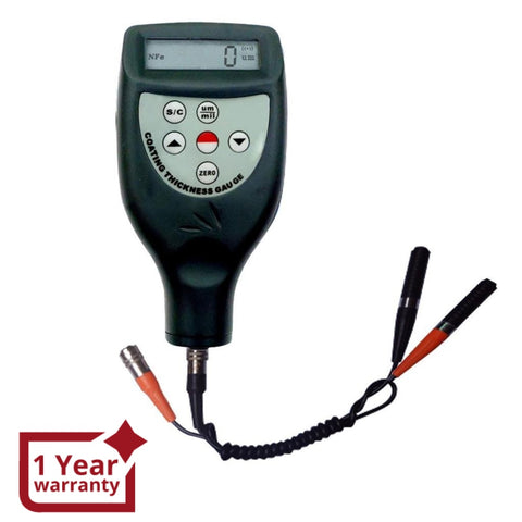 CM-8826FN Digital Paint Coating Thickness Meter Gauge with F & NF Probes CE Marking Automotive Tester - Gain Express
