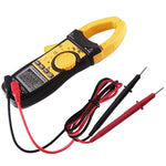 CM113 Digital AC/DC Clamp Meter Multimeter Thermometer Ohm Auto Range 3999 Counts Professional Tester - Gain Express