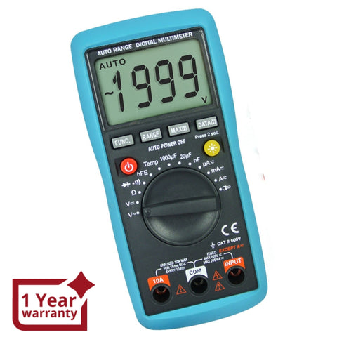 E04-012 Digital Multimeter Dcv Acv Ohm Aca Diode Temperature Tester Multimeters / Clamp Meters