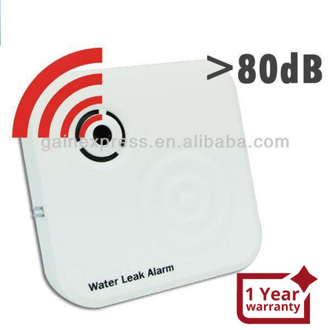 E04-020 Wireless Mini Water Leak Alarm >80Db Sensor