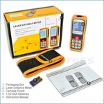 Gm60D Professional 60M Laser Distance Meter W/ High Accuracy ±1.5Mm