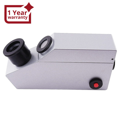 Gr-601 2In1 Light Source Gem Refractometer Gemstone New Design 1.30~1.81 Ri Range Refractometers