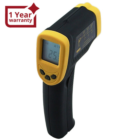 Ir-600 Digital Industrial Infrared Thermometer -32~400°C (-26~752°F) 12:1 Laser Ir Gun Non-Contact