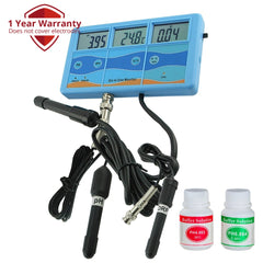 PHT-027 7-in-1 Meter Tester ORP , PH, CF, EC, TDS (PPM) °F °C