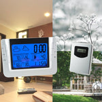 S08608B_1S Digital Wireless Indoor/outdoor Weather Station Temperature Humidity Rcc Clock