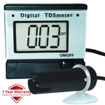 Tds-1392 0~1999 Ppm (Mg/l) Range Digital Tds Meter + Monitor Power Adaptor Water Quality Meters