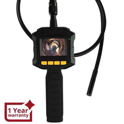Vid-10 Industrial 2.31 Tft Lcd 8Mm Camera Borescope Endoscope 4 Led Lights Inspection