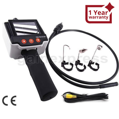 Vid-4 Pipe Car 2.4 Lcd Inspection Borescope Video Camera + 1M Cable