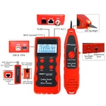 N03Nf-838 Network Cable Tester Rj45 Rj11 Bnc 1394 Line Phone Wire Tracker Testers