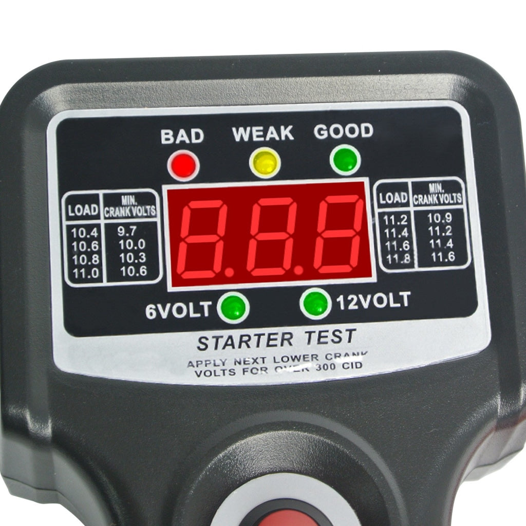 E04-016 Car Automotive Vehicular Battery Load Tester Checker