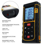 X01Rz-E80Ii Digital 80M/262Ft Laser Measuring Tape Distance Meter Range Finder Device With Backlight