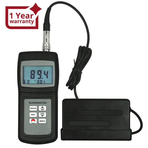 Gm-026 Handheld Gloss Meter 20 & 60 Degree Tile Floor Metal Surface 0.1 ~ 200 W/ Memory