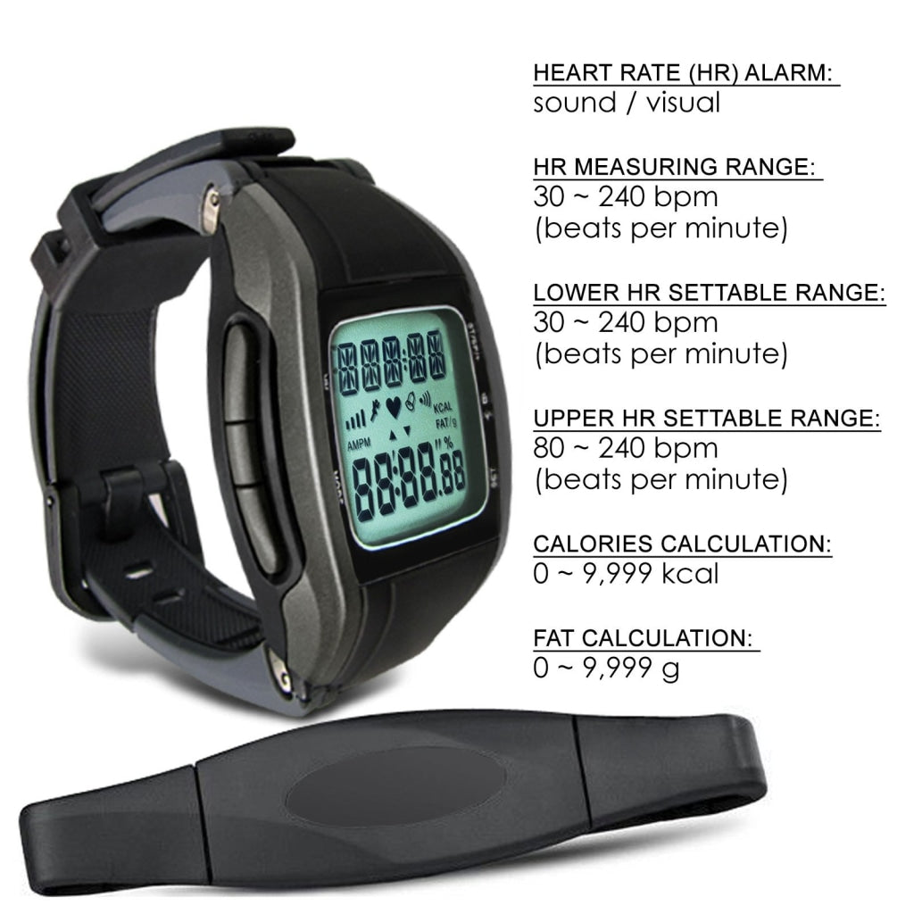 HRM-2803 Heart Rate Monitor Wireless Chest Strap Watch