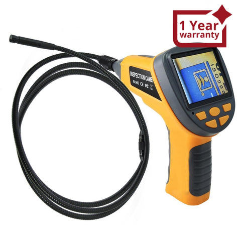 "C0599H_4M Industrial 4M Cable Camera Borescope Endoscope 10mm LED 3.5"" TFT LCD - Gain Express"