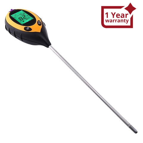 ZD-07 4-in-1 Soil Survey Instrument  ( pH °F / °C moisture sunlight )