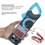 E04-014 Digital Clamp Meter Dc Ac Audible Continuity Tester Ce Marking Reading 1999 Lcd Backlight