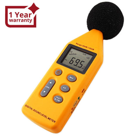 Slm-814 Digital Sound Pressure Level Meter Noise Decibel 130 Db