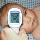 Th-8000 Digital 2In1 Body & Surface Thermometer Human Forehead °C / °F