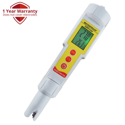 Orp-001 Pen-Type Orp Temperature Meter Redox Thermometer (°C/ °F) -1999Mv~1999Mv Pool Aquarium