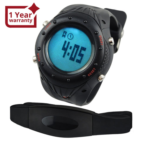 Hrm-003 Sports Watch Heart Rate Monitor Pedometer Exercise Fitness Watches Calorie Counter 30~240Bpm