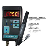 Ph-201 Digital Ph Controller + Electrode Solutions 110V Or 220V Water Quality Meters