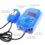 Ph-301 Digital Ph Controller + Bnc Electrode 220V Or 110V Co2 Water Quality Meters