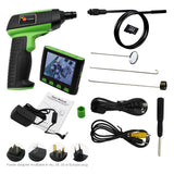 Vid-12_1M 1M Inspection Camera Endoscope 3.5 Detachable Wireless Lcd 9Mm Diameter 4 Led 4X Zoom 2Gb