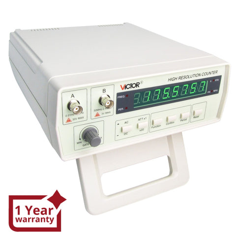 Vc-3165 Precision Frequency Counter 0.01 Hz - 2.4 Ghz