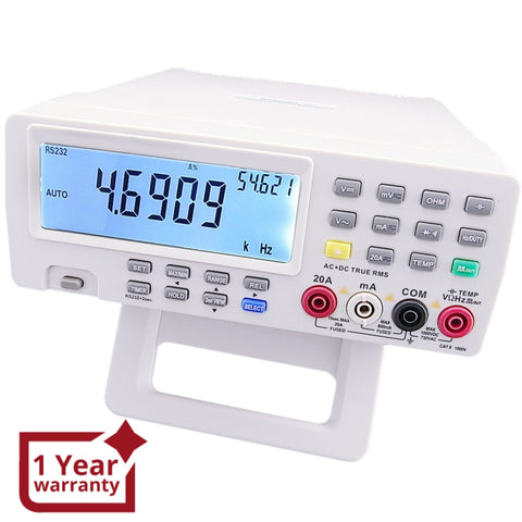 Vc-8145 Dmm Digital Bench Top Multimeter Pc Analog Bar Meter Multimeters / Clamp Meters Scopemeter