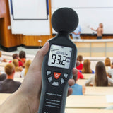 Slm-24 Professional Sound Level Meter With Backlit Display High Accuracy Measuring 30Db-130Db