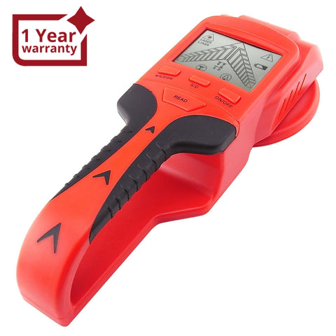 Jdt-08 3In1 Lcd Stud Detector Metal Voltage Cable Wood Finder Joist Wire Scanner Level Marker