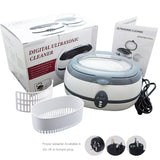 Vgt-800 Ultrasonic Cleaner 600Ml Jewellery Dental Watch 220V