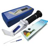 Zgrs-10Atc 0-10% Atc Handheld Salinity Refractometer W/ Built-In Led Light Source