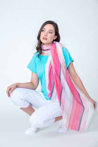 What To Wear To A Summer BBQ Scarf From Paco