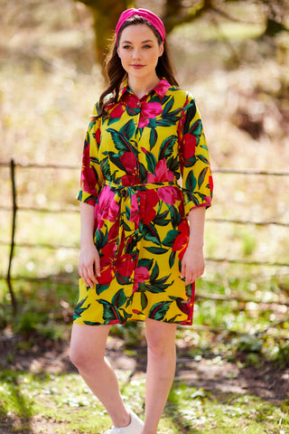 what to wear to a summer BBQ Shirt Dress