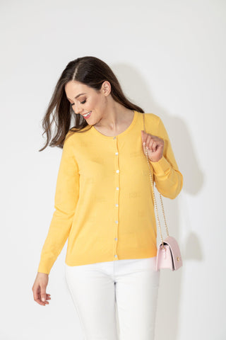 what to wear to a summer evening BBQ cardigan from Paco