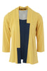 Colour Block Mock Cardigan