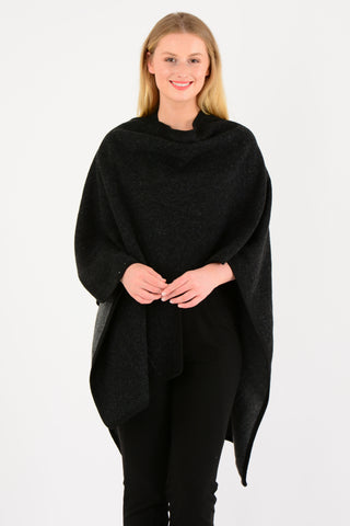 Black Grey Cape