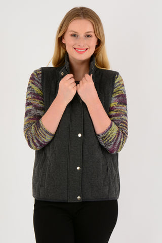 Quilted Pattern Gilet