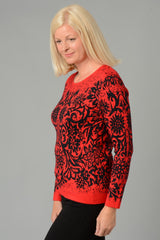 Floral Pattern Jumper