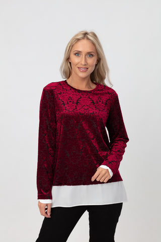 Flocking 2 in 1 Top