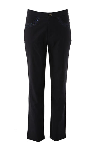 Zip Front Pocket Trousers